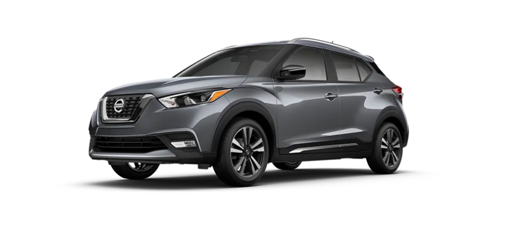 Gun Metallic Nissan Kicks