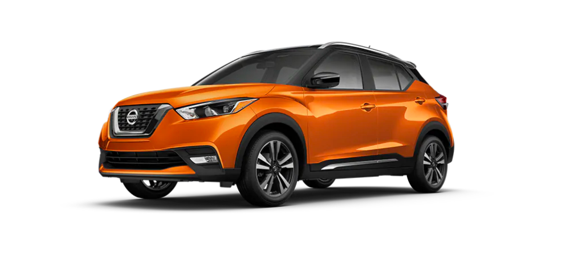 Monarch Orange Metallic/Super Black Nissan Kicks