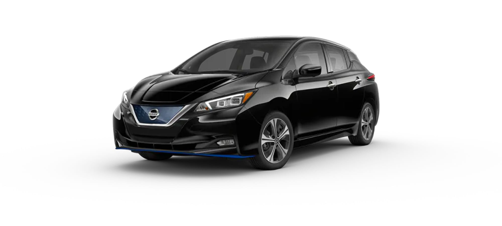 Super Black Nissan Leaf