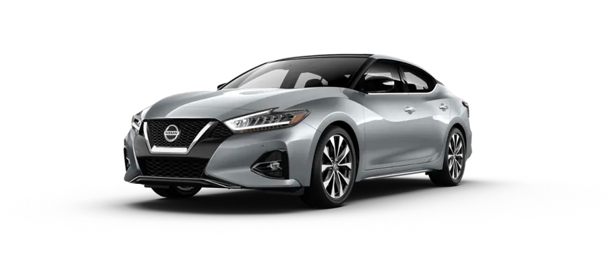 2020 Nissan Maxima in Brilliant Silver Metallic