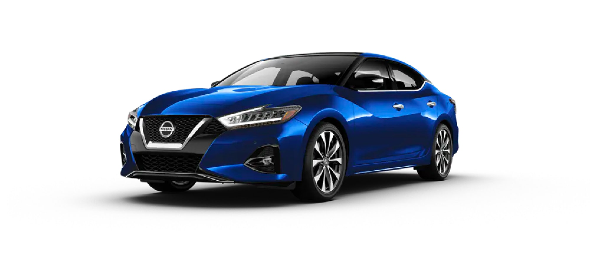 2020 Nissan Maxima in Deep Blue Pearl