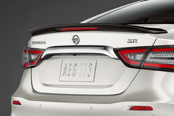 Rear view of 2020 Nissan Maxima