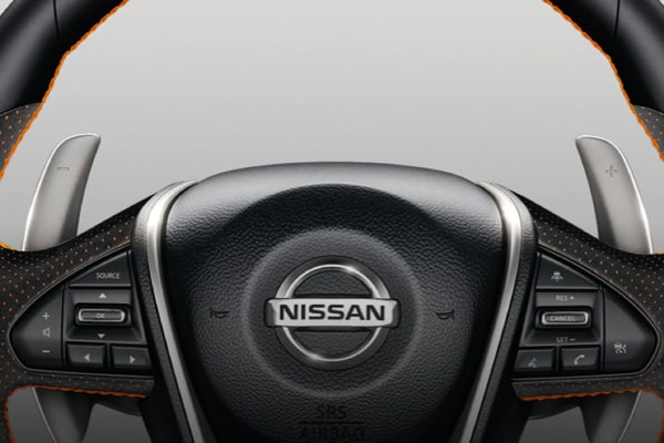 Nissan Maxima paddle shifters