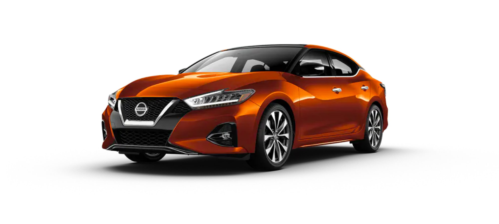 2020 Nissan Maxima in Monarch Orange Metallic