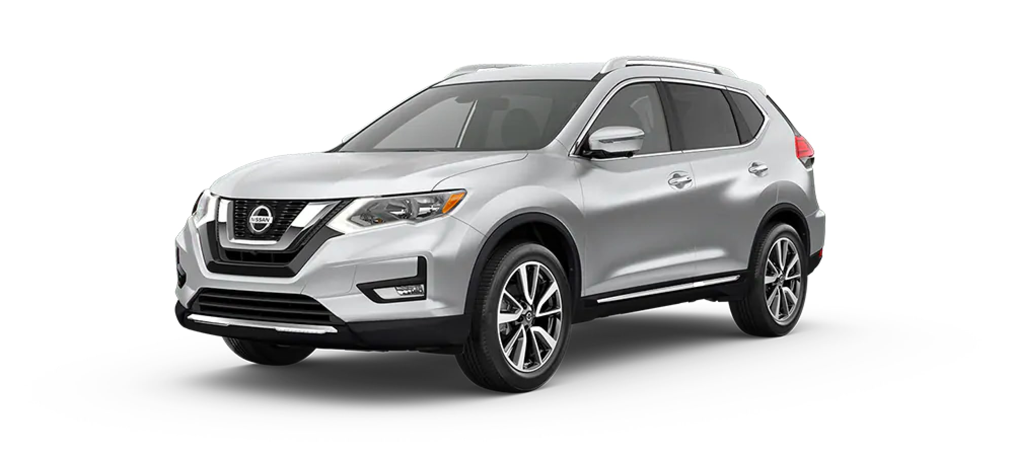 2020 Nissan Rogue in Brilliant Silver Metallic