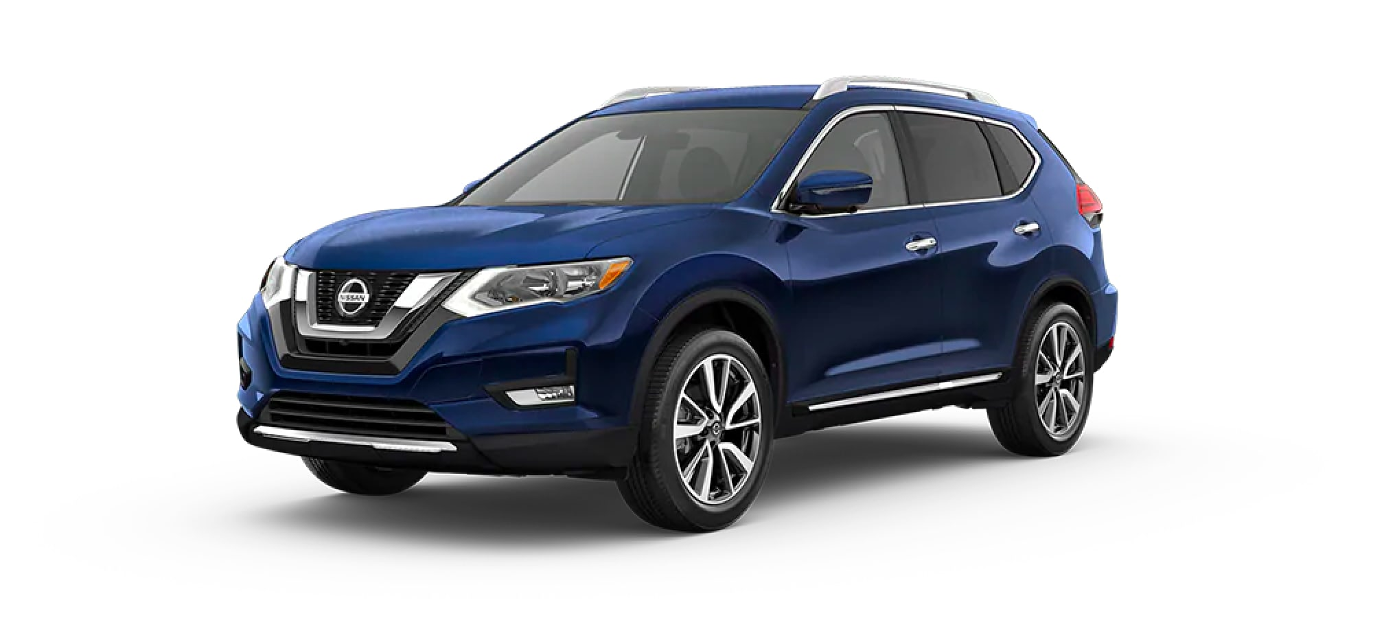 2020 Nissan Rogue in Caspian Blue Metallic