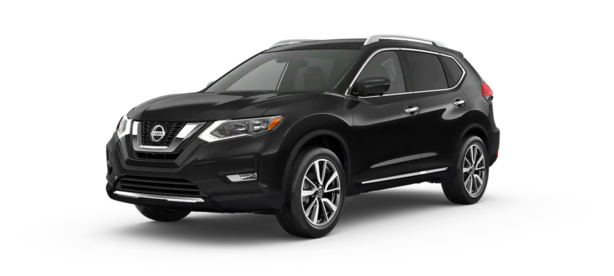 2020 Nissan Rogue in Magnetic Black Pearl