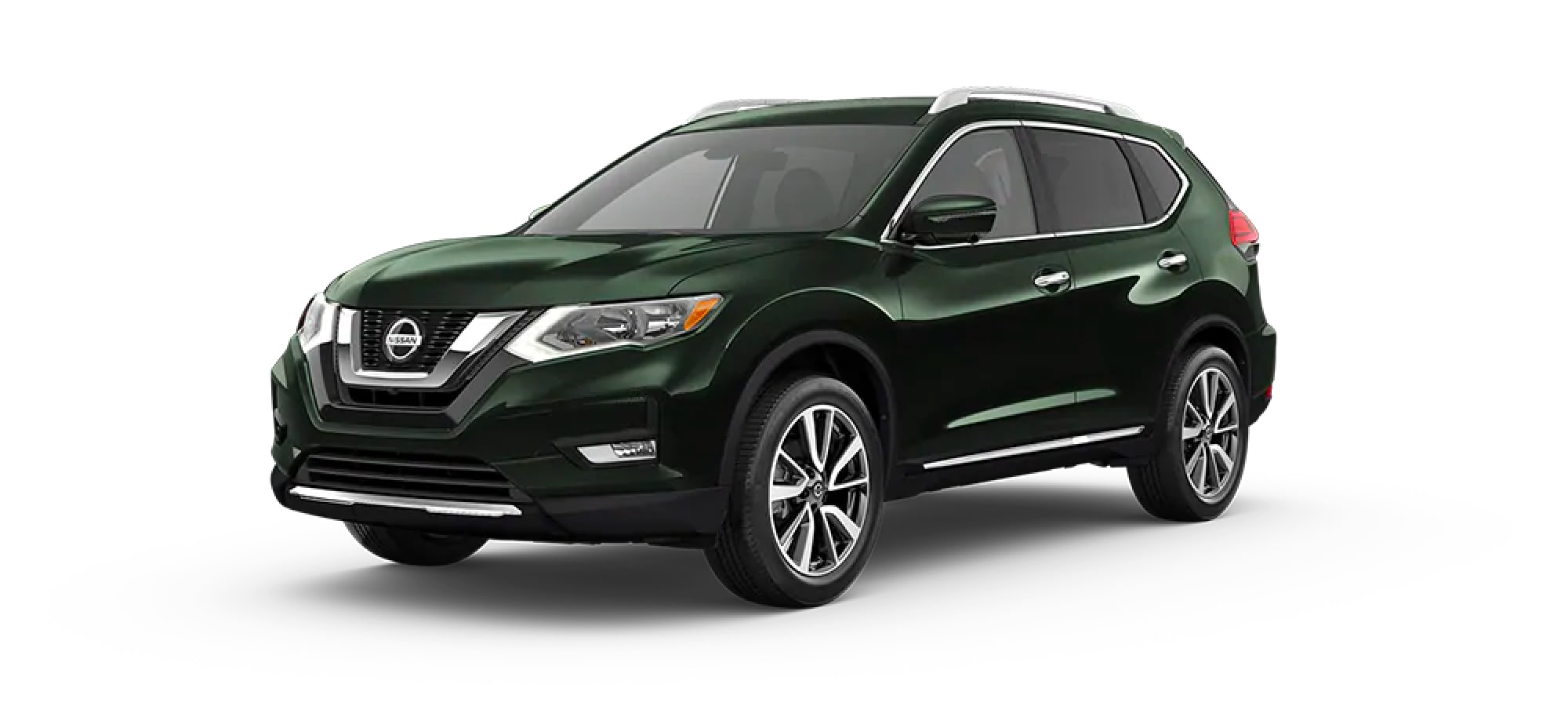 2020 Nissan Rogue in Midnight Pine Metallic