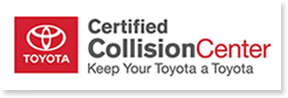 Toyota Body Shop Collision Center Logo