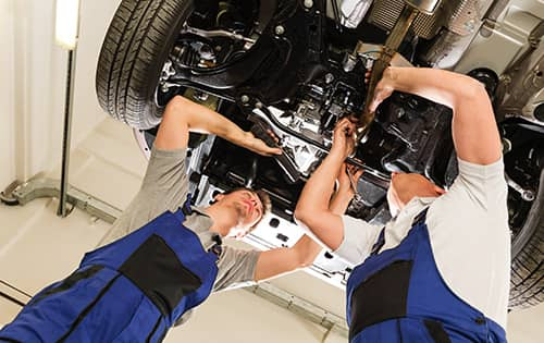 Nissan Factory-Trained Technicians