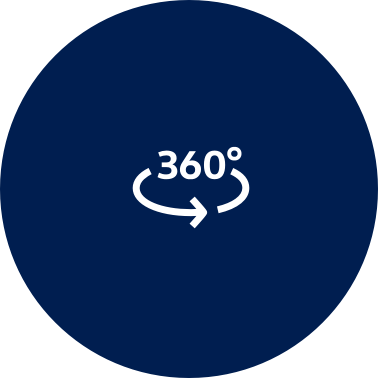 A graphic icon shows a three-hundred-and sixty-degree view option