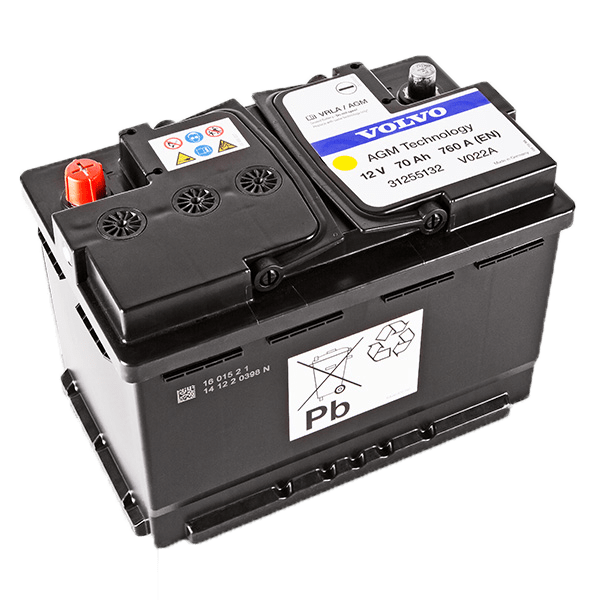 Volvo Battery parts page