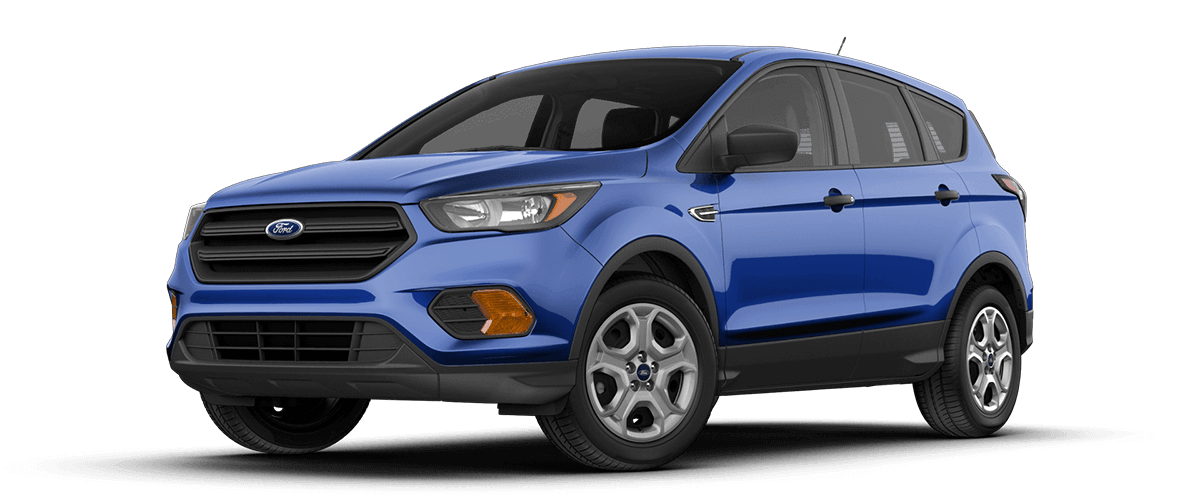 2018 Ford EScape in Lighting Blue