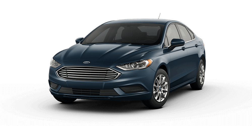 2018 Ford Fusion in Blue Metallic