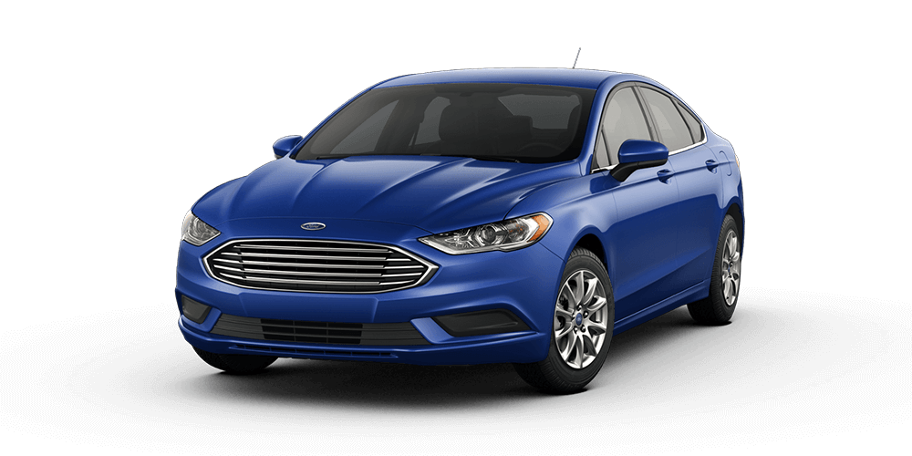 2018 Ford Fusion in Lighting Blue