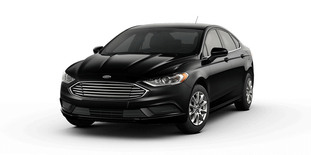 2018 Ford Fusion Shadow Black Color