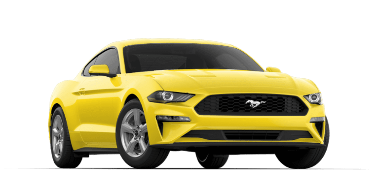 Ford Mustang Triple Yellow Color