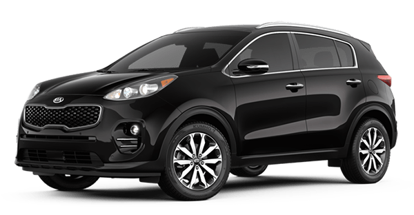 2019 Kia Sportage EX in Black Cherry