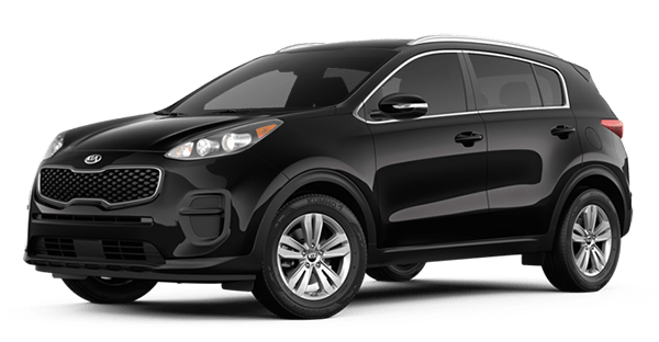 2019 Kia Sportage LX in Black Cherry