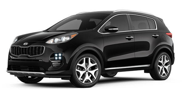 2019 Kia Sportage SX Turbo in Black Cherry