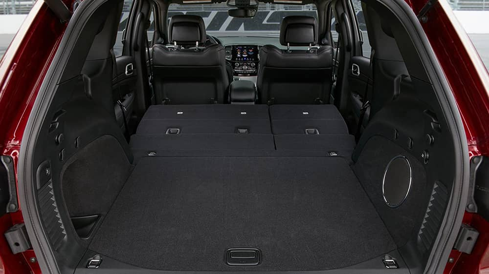2020 Jeep Grand Cherokee Rear Cargo Space