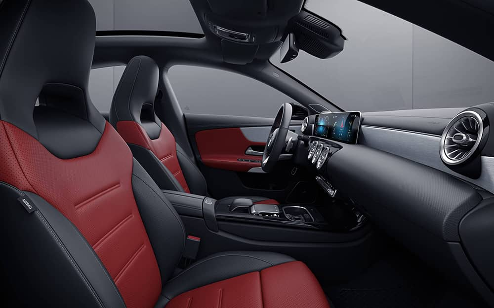 2020 Mercedes-Benz CLA front Seating