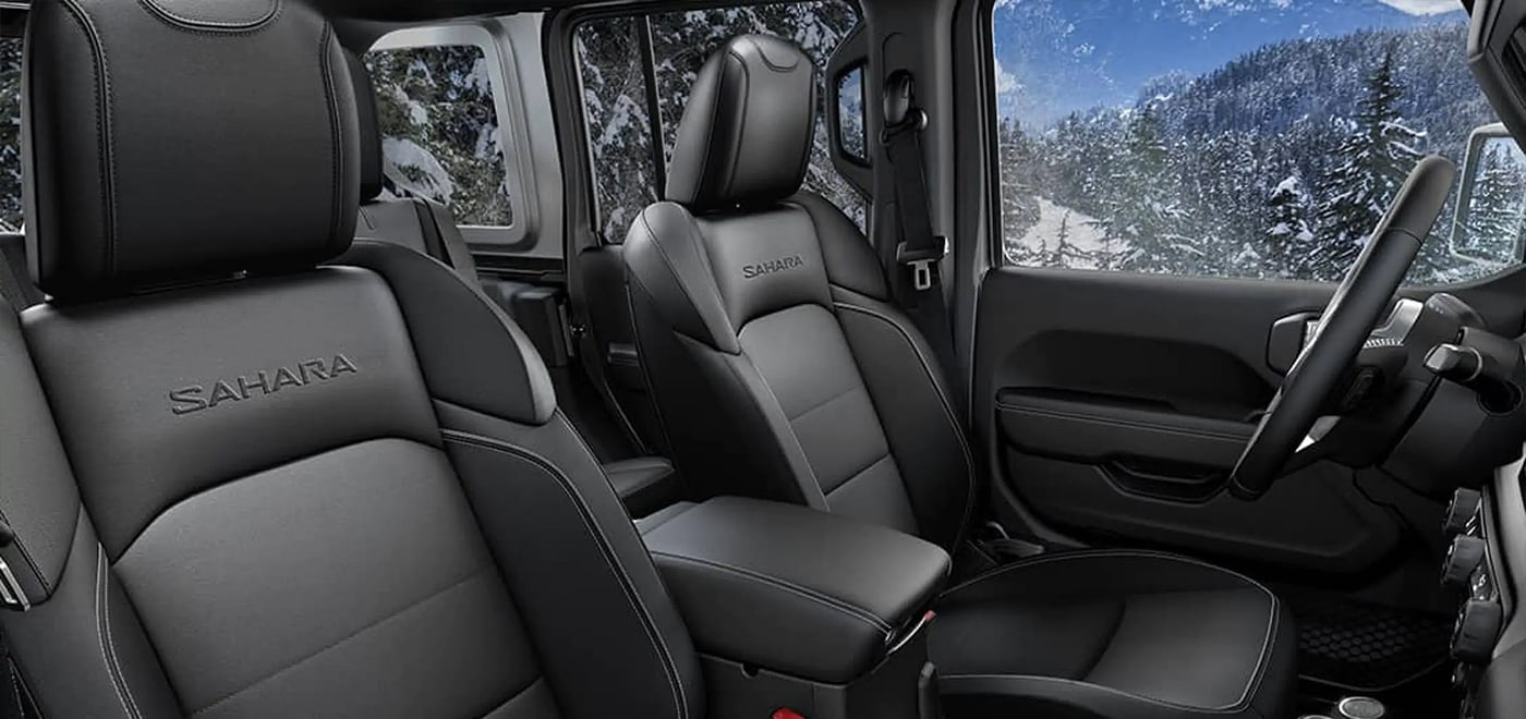 2021 Jeep Wrangler Seating