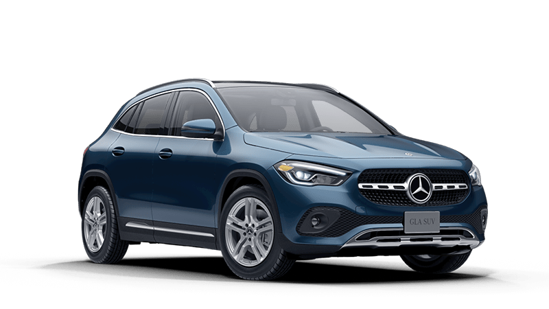 2021 Mercedes-Benz GLA in Denim Blue Metallic