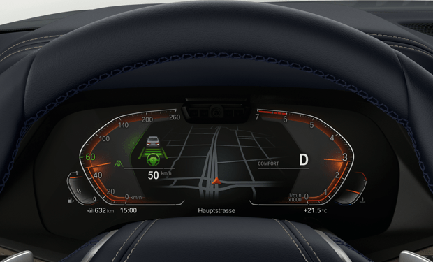 driving assist on dashboard